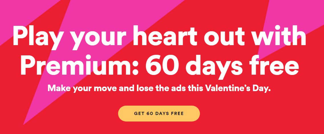 Spotify Premium Free for 60 days