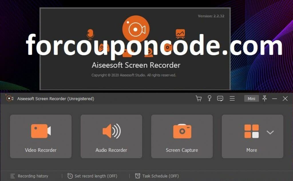 Aiseesoft Screen Recorder Giveaway Registration Code